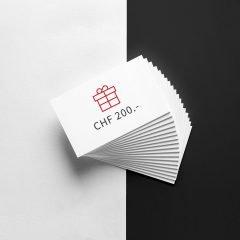 Bon cadeau de CHF 20.-