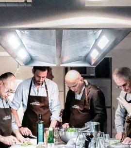 Atelier culinaire et accords mets-vins