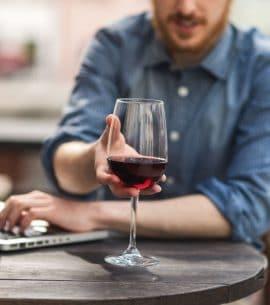 Weinverkostung per Videokonferenz